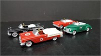4 TEXACO MODEL PEDDLE CARS