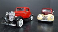 1940 FORD PICKUP & 1932 FORD 3 WINDOW COUPE