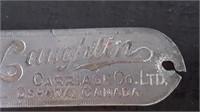McLAUGHLIN CARRIAGE OSHAWA ONTARIO BADGE