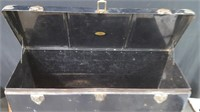 ANTIQUE REMOVEABLE LUGGAGE TRUNK