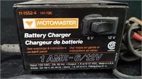 MOTOMASTER 1 AMP 6/12 V CHARGER