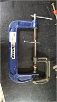 """12 VARIOUS SIZE """"C"""" CLAMPS"""