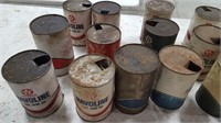 20+ VARIOUS OIL CANS