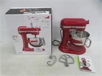 KitchenAid 6Qt Bowl-Lift Stand Mixer w/ Wire Whip,