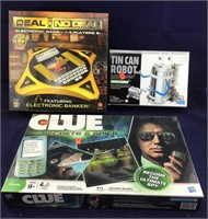 Unopened Games and Toy