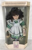 NIB Porcelain Doll