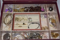 Memory Box with Jewelry
