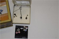 Jewelry Box with Contents