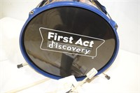 First Act Drum Set with Sticks