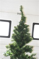 "Artificial Christmas Tree 77"" Tall"