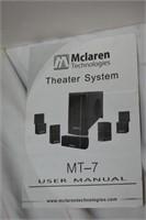 McLaren Technologies Theater System