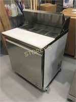 "Meileda Like New 27"" Refrigerated Prep Table"