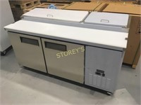 Coldline 6' Like New Refrigerated Prep Table