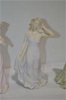 """(3) Sisters Figurines, 7"""" Tall"""
