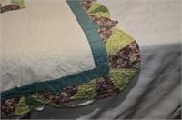 """Hand Stitched Quilt 78"""" x 66"""""""