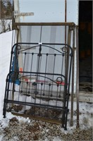 Iron Bed Frame, Head and Foot Board- Size 3/4