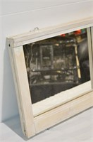 """Wooden Frame Wall Mirror  47"""" x 15.5"""""""