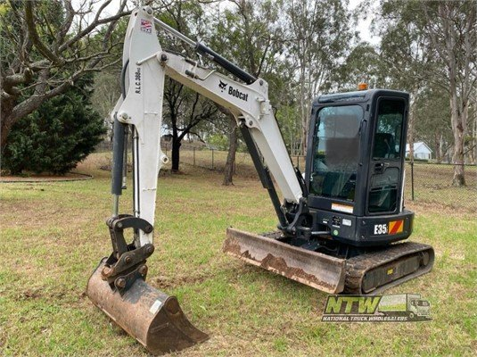 2016 Bobcat E35 National Truck Wholesalers Pty Ltd - Heavy Machinery for Sale
