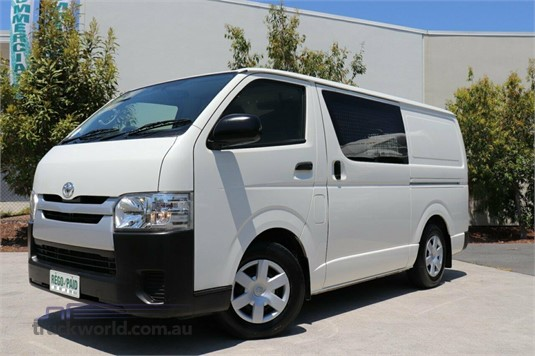 2014 Toyota Hiace Kdh201r My14 Lwb - Light Commercial for Sale