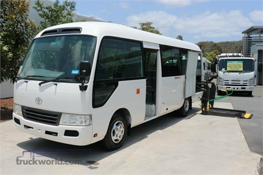 2010 Toyota Coaster Bus - Buses for Sale