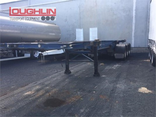 Ophee Skeletal Trailer Loughlin Bros Transport Equipment  - Trailers for Sale