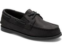 Sperry Boys A/O Top-Sider Black Sz 2 M
