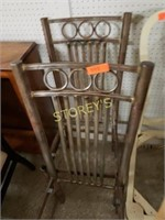 Pair of Metal Dining Chairs