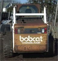 1999 Bobcat Model 873 F-Series wheeled skid