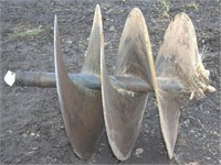 "36"" tree auger bit with good cutting teeth"