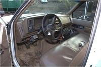 1994 GMC 3500 HD SL with 12' stake rack