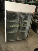 General 2dr Glass Freezer - 52 x 31 x 81