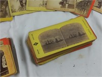 Stereoscope Slide Cards Pictures Scenery More