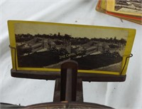 Stereoscope Viewer W/ Picture Cards Antique