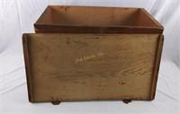 L Wilkins Soda Biscuits Vintage Wood Crate Box