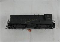 H O Train Engine & Wooden Train Car Models