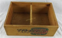 Vintage Genesee 12 Horse Ale Wooden Box