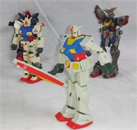 "2001 Gundam Wing 4.5 "" Figures"