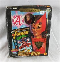 """Marvel Scarlet Witch 8""""  Poseable Figure Sealed"""