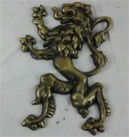 Cast Aluminum Lions & Axe Wall Hangers