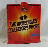 Incredibles Collector's Phone In Box
