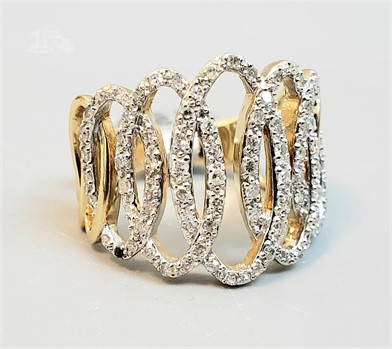 14k Yellow Gold Ladies Diamond Ring Other Items For Sale 1