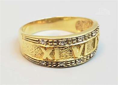 18K YELLOW GOLD DIAMOND RING Other Items For Sale 1