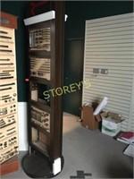 Swivel Display Unit - 24 x 24 x 90