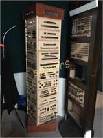 4 Sided Swivel display Unit - 21 x 21 x 81