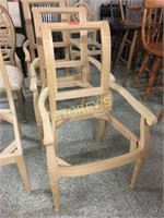 3 Dining Chairs - unfinished
