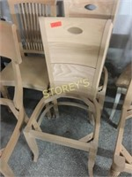 2 Dining Chairs - unfinished