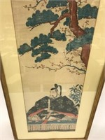 Japanese Seated Male Figure
