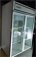 2dr Glass Reach-In Freezer