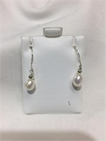 Silver Fwp   Earrings, Made in Canada (184 -