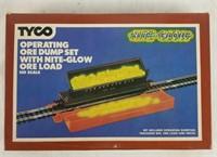 Tyco Ho Operating Ore Dump Set W/ Nite Glow Ore